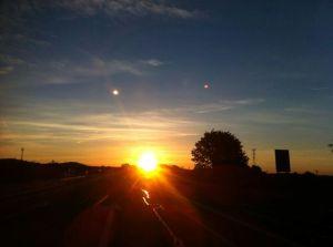 Amanecer en ruta (Castellón)