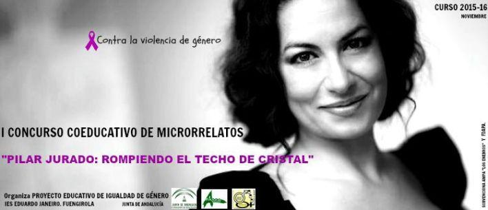 Pilar Jurado cartelconcurso microrrelatos