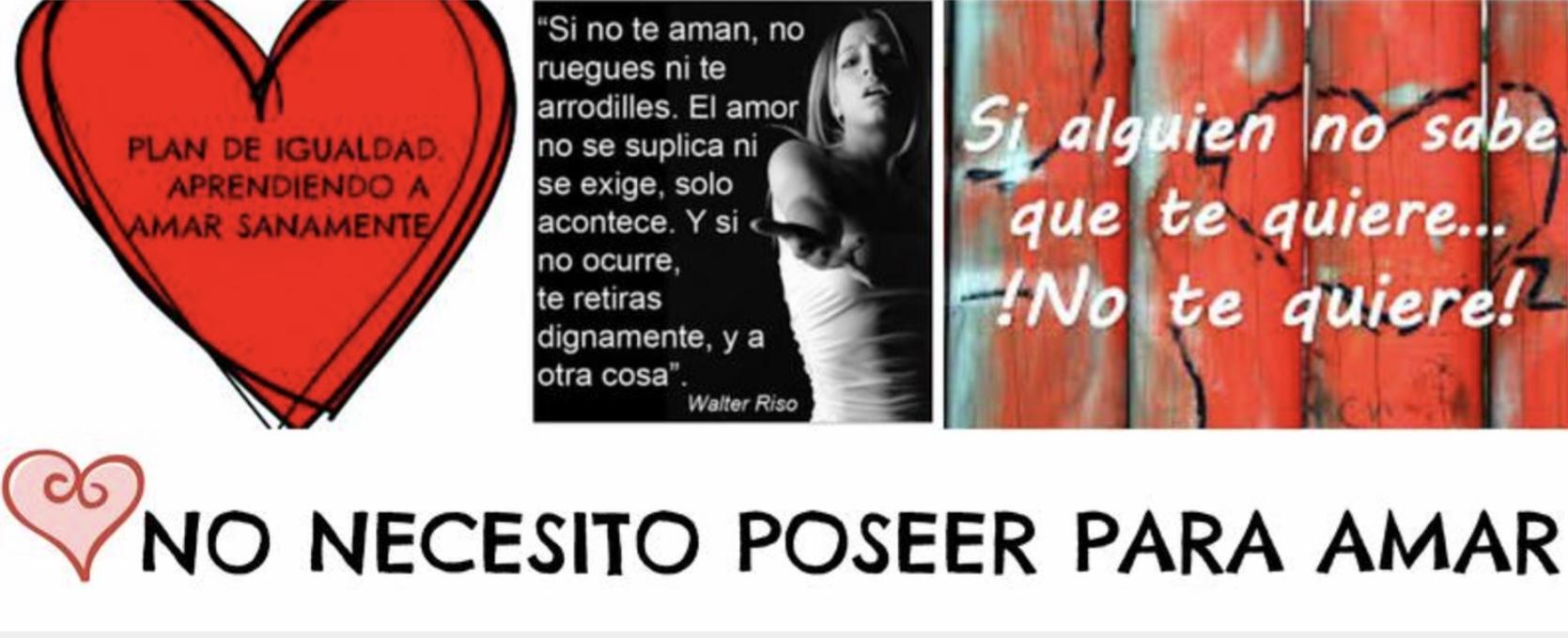 cartel campaña el amor en positivo